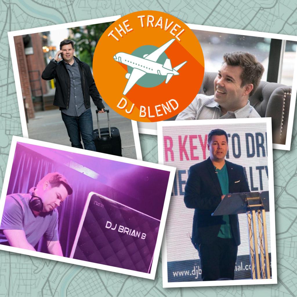 The Travel DJ Blend Podcast